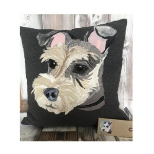 Pet Portrait commission cushion- without name