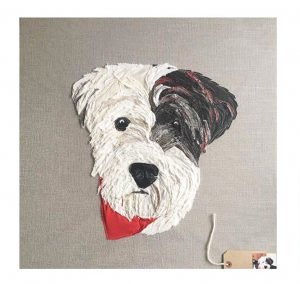 Commission Pet Portrait Canvas (Large)