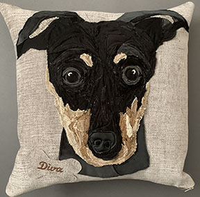 Pet Portrait Cushion