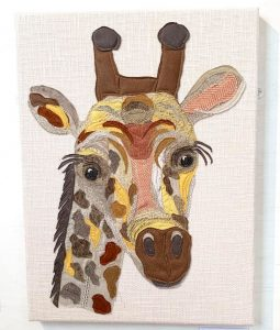 Giraffe Artwork SOLD