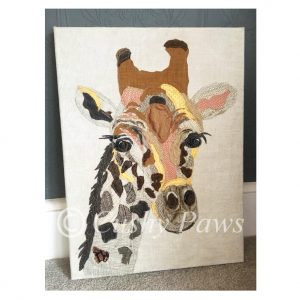 Artwork- Giraffe SOLD
