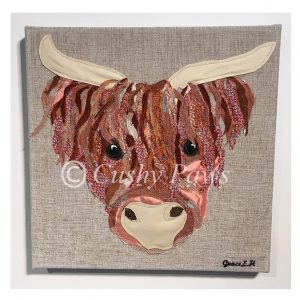 Highland Cow Collection- Orange