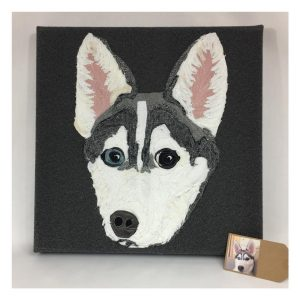 Commission Pet Portrait canvas (Small)