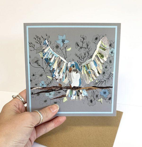 Bird Card- Cushy Paws