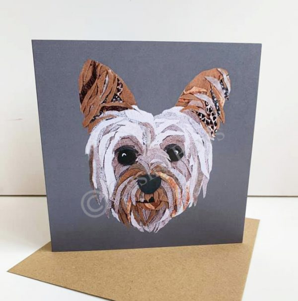 Yorkie Greeting card