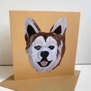 Akita Dog breed card
