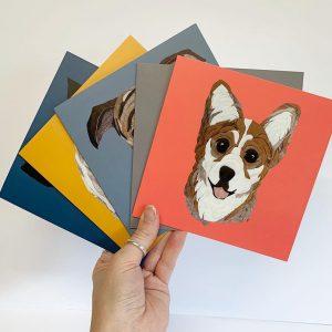 Corgi Card