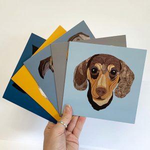 Dachshund Card