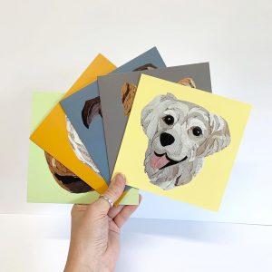Golden Retriever Card