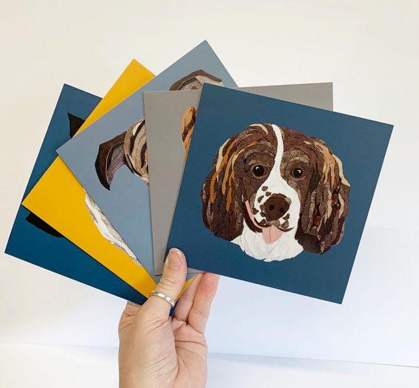 Spaniel Card
