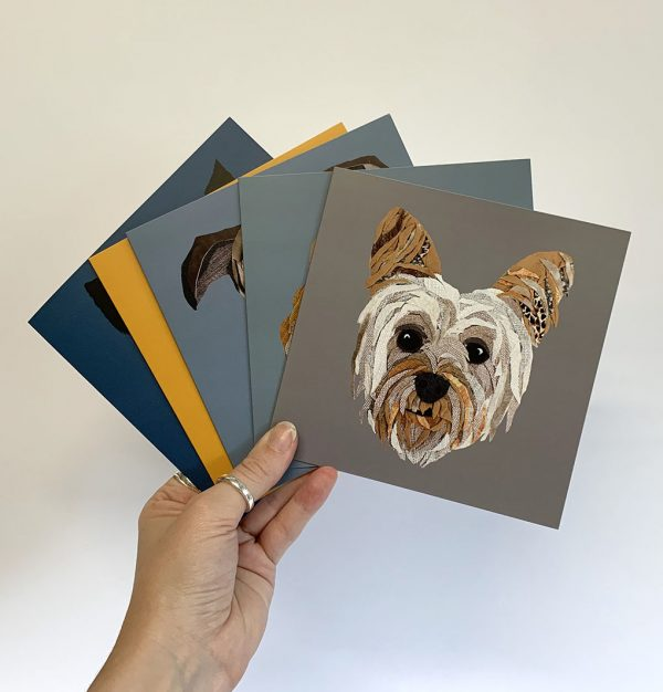 Yorkie Card