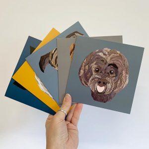 labradoodle Card- Cushy Paws