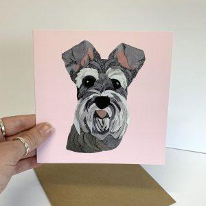 schnauzer card