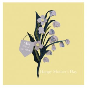 May Lily of the Valley Mother's Day greetings card