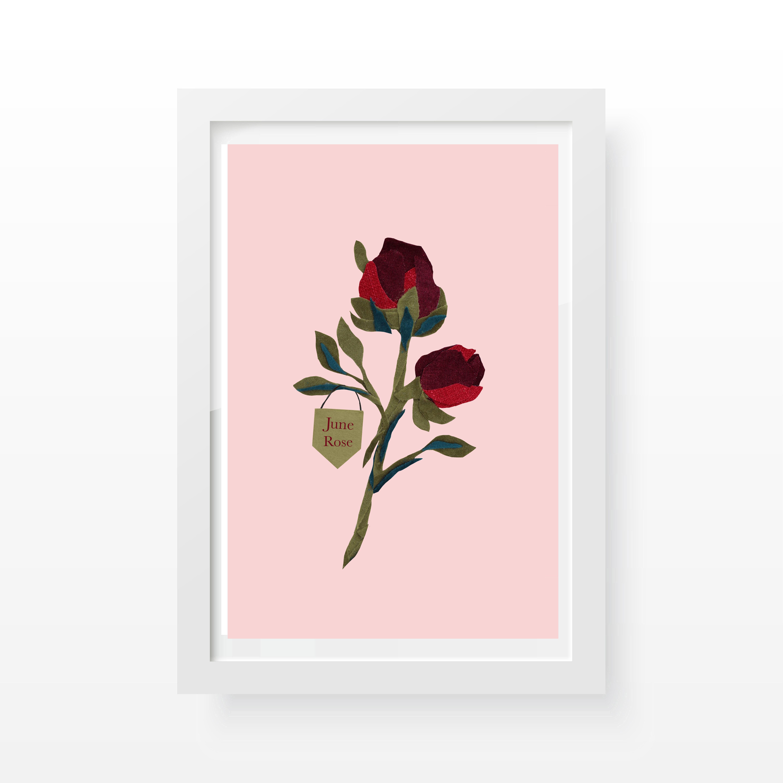 Rose Floral Print