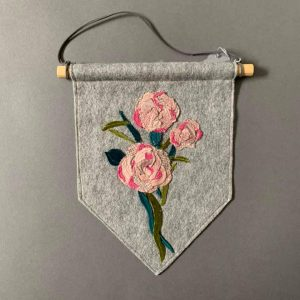 Carnation Floral Wall Hanging