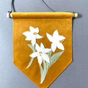 Narcissus Wall Hanging