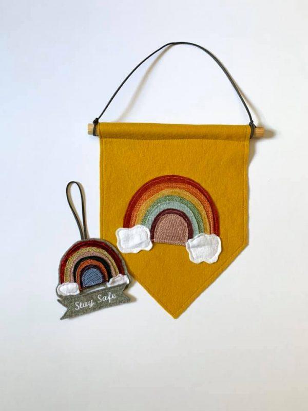 Multi Rainbow on Mustard