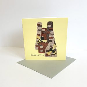 Stoke on Trent Greetings Card