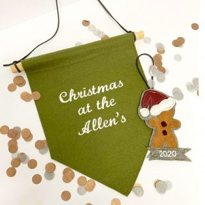 Personalised Christmas Wall Hangings