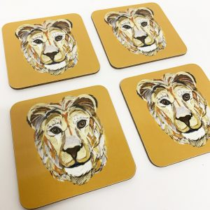 Lion Coaster set
