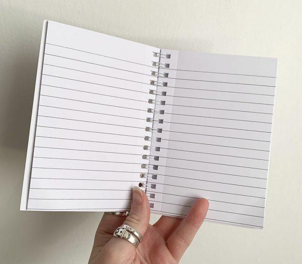 Inside Notebook- Cushy Paws