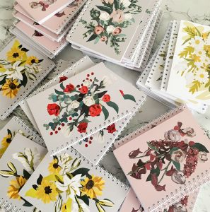 Floral Notebook A6