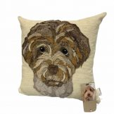 Pet Portrait Cushion- without name