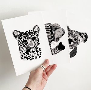 Monochrome Prints A5