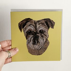 Border Terrier Card