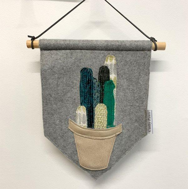 Plant Pot Wall Hangings