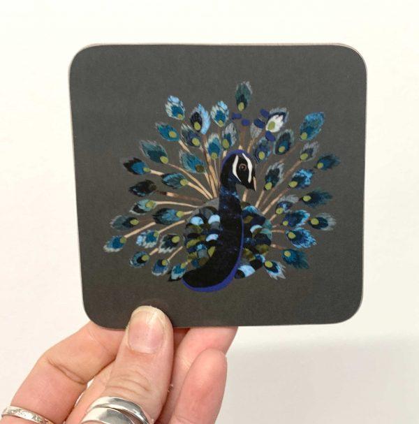 Peacock Coaster