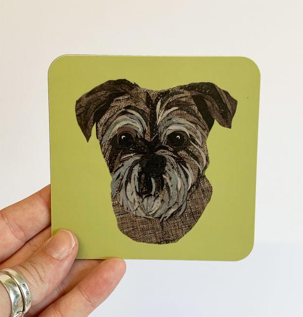 Border Terrier Coaster