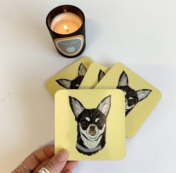 Chihuahua Coaster single