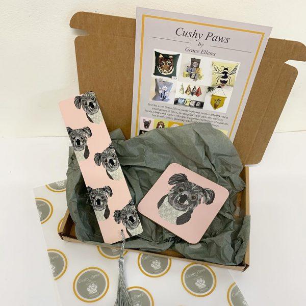 Koala Gift Set Bookmark and Coaster